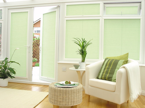 conservatory-pleated-blinds